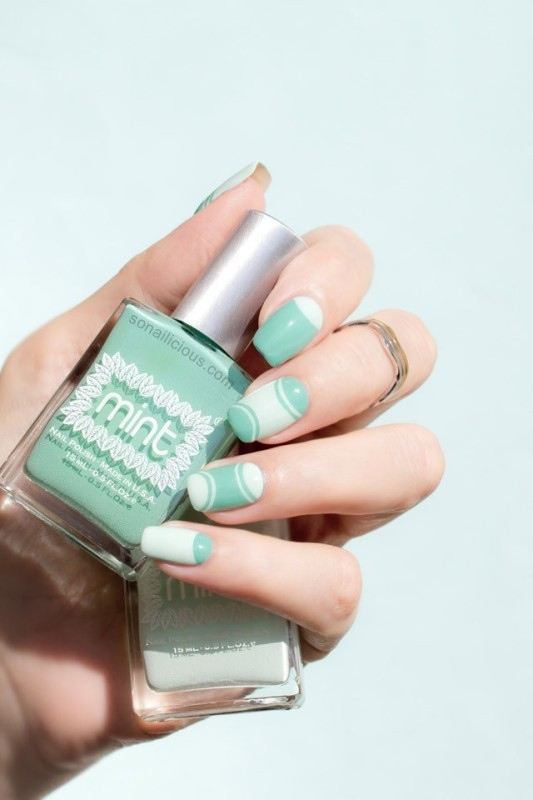 Two-colors-3 28+ Dazzling Nail Polish Trends You Must Try in 2021