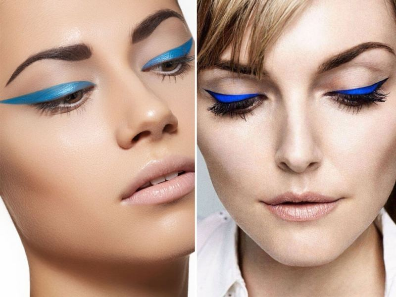 blue-eye-shadow-4 14 Latest Makeup Trends to Be More Gorgeous in 2020