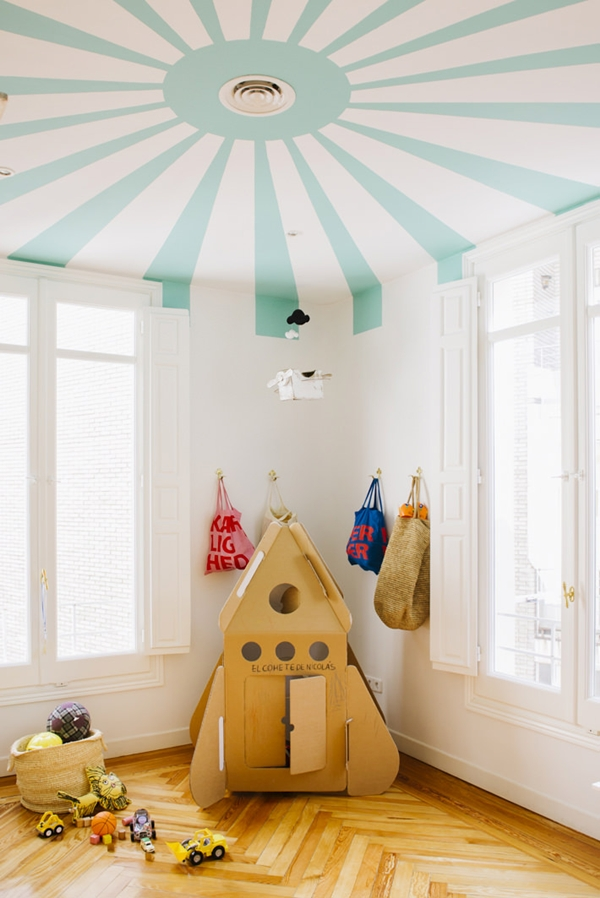 circus-kids-room1 +25 Marvelous Kids' Rooms Ceiling Designs Ideas
