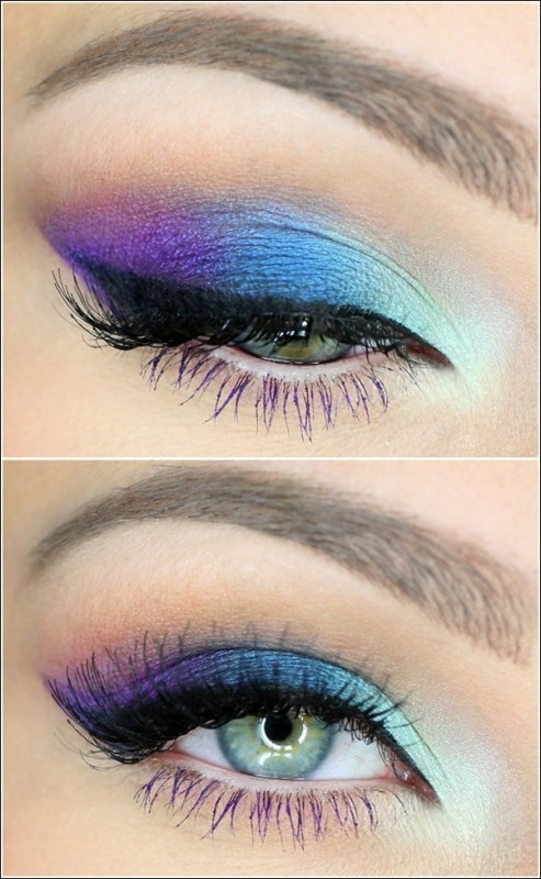colorful-eye-makeup 14 Latest Makeup Trends to Be More Gorgeous in 2020