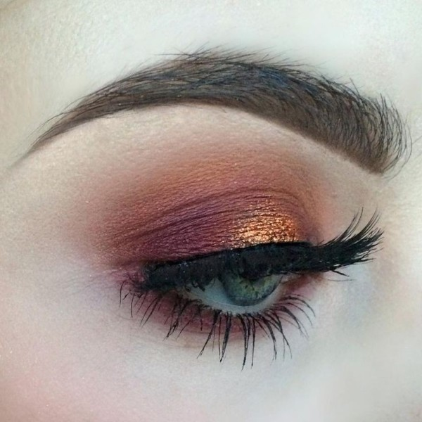 copper-eye-makeup-2 14 Latest Makeup Trends to Be More Gorgeous in 2020