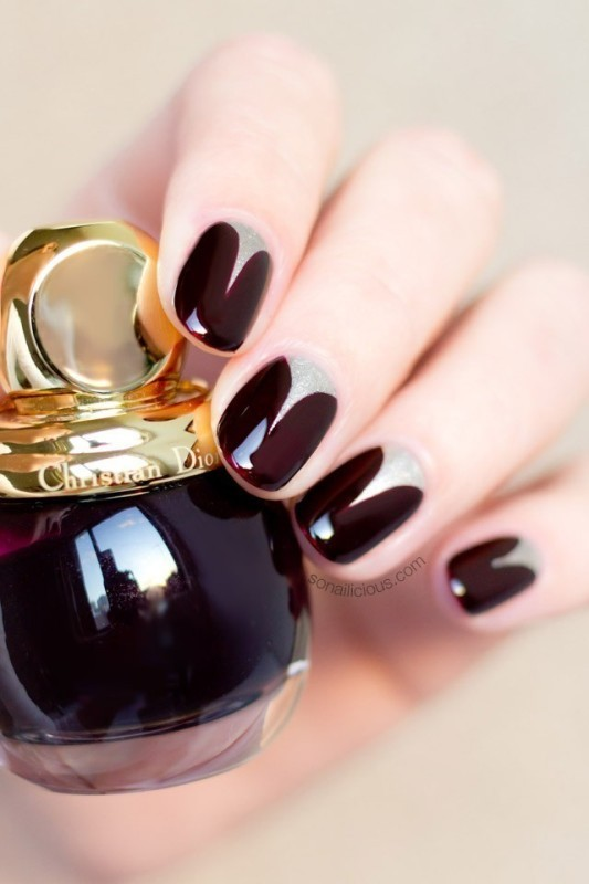 dark-nails-2 28+ Dazzling Nail Polish Trends You Must Try in 2019