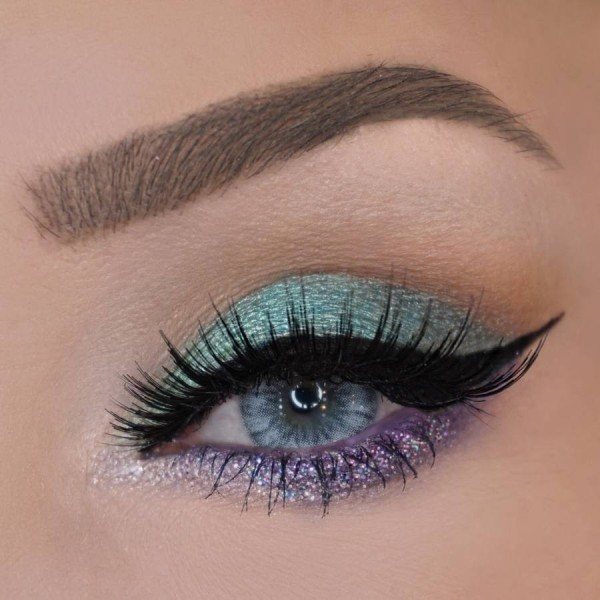glittering-eyes-6 14 Latest Makeup Trends to Be More Gorgeous in 2020