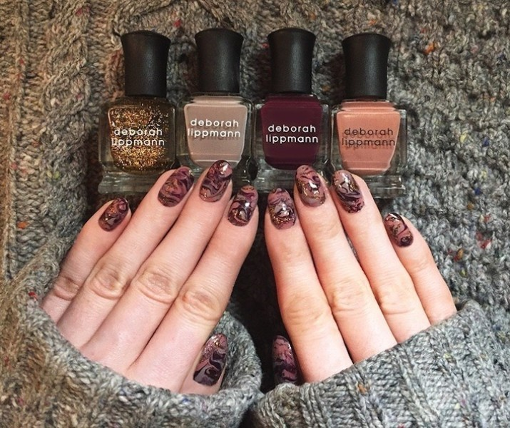 glittering-nails-14 28+ Dazzling Nail Polish Trends You Must Try in 2018