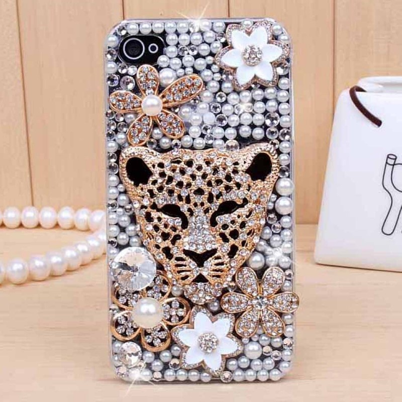 iphone4s-5-leopard-head-diamond-mobile-phone-shell-mobile-phone-shell-cell-phone-protective-cover-an-apple-45-generation-of-fat_diamond_-dimensions-normal-size-color-full-diamond-leopard-head-applic_1 80+ Diamond Mobile Covers