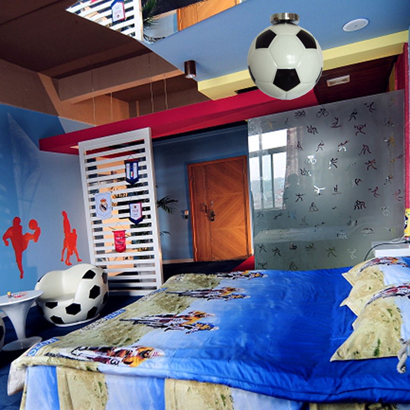 kids-room-font-b-football-b-font-lamp-basket-ball-ceiling-lamp-bar-novelty-lighting-children +25 Marvelous Kids' Rooms Ceiling Designs Ideas