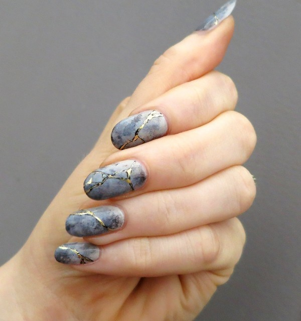 marble-nails-12 28+ Dazzling Nail Polish Trends You Must Try in 2021