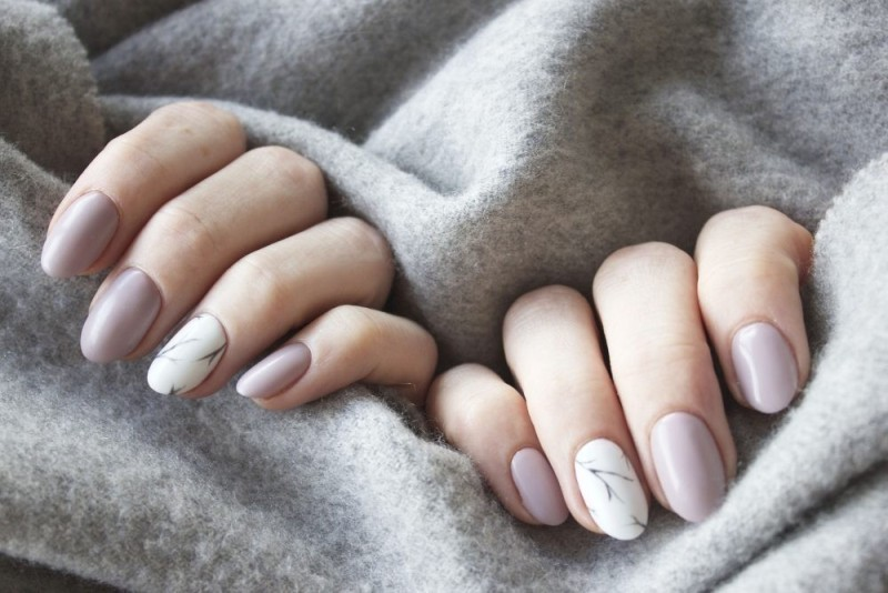 marble-nails-5 28+ Dazzling Nail Polish Trends You Must Try in 2019