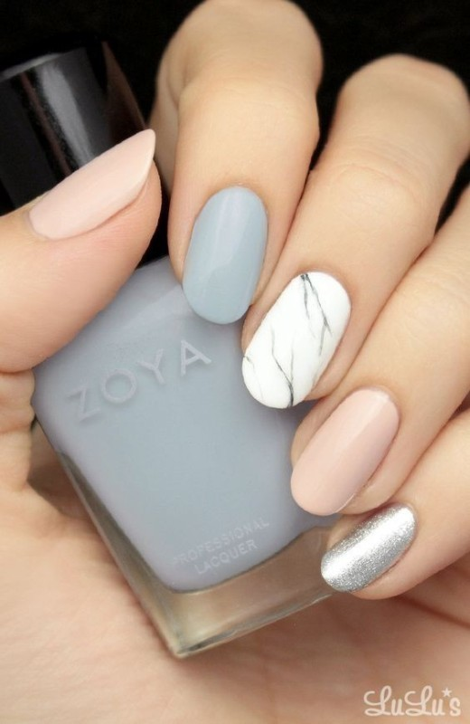 marble-nails 28+ Dazzling Nail Polish Trends You Must Try in 2018