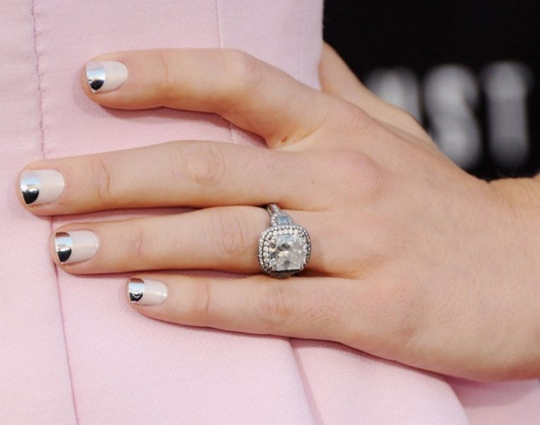 metallic-nails-6 28+ Dazzling Nail Polish Trends You Must Try in 2021