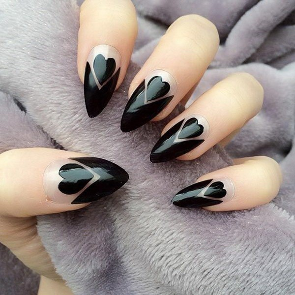 negative-space-nails-12 28+ Dazzling Nail Polish Trends You Must Try in 2019