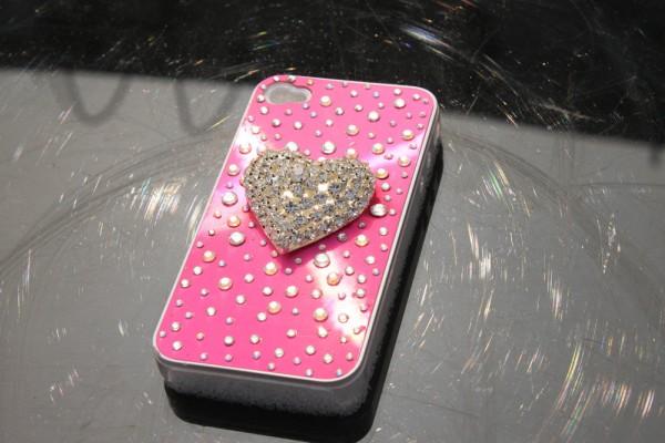 oem_big_heart_diamond_apple_bling_bling_iphone_4_4s_cases_for_mobile_phone 80+ Diamond Mobile Covers