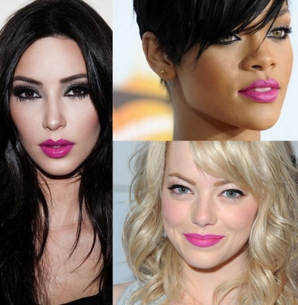 pink-lips-7 14 Latest Makeup Trends to Be More Gorgeous in 2020