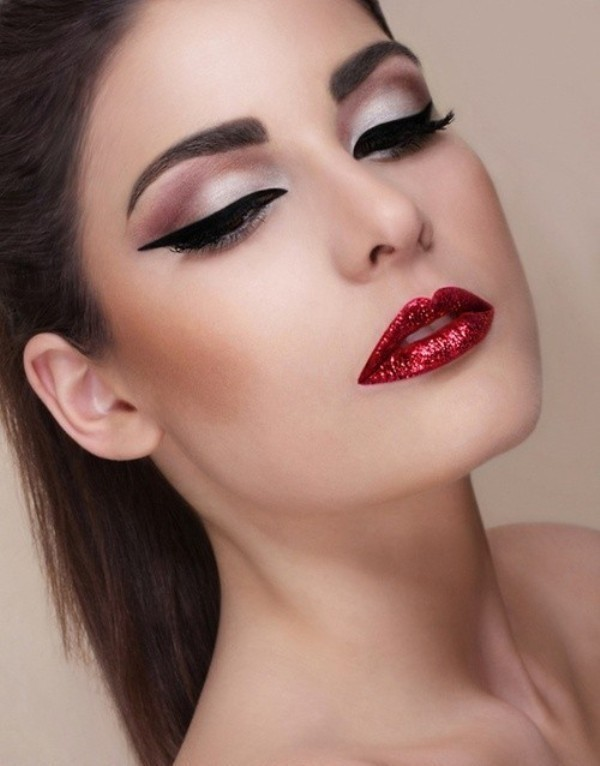 red-lips-6 14 Makeup Trends to Be More Gorgeous in 2017