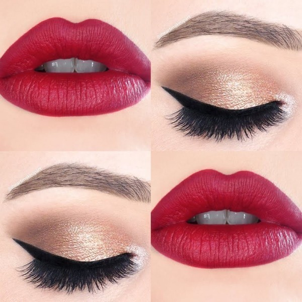red-lips-9 14 Makeup Trends to Be More Gorgeous in 2017