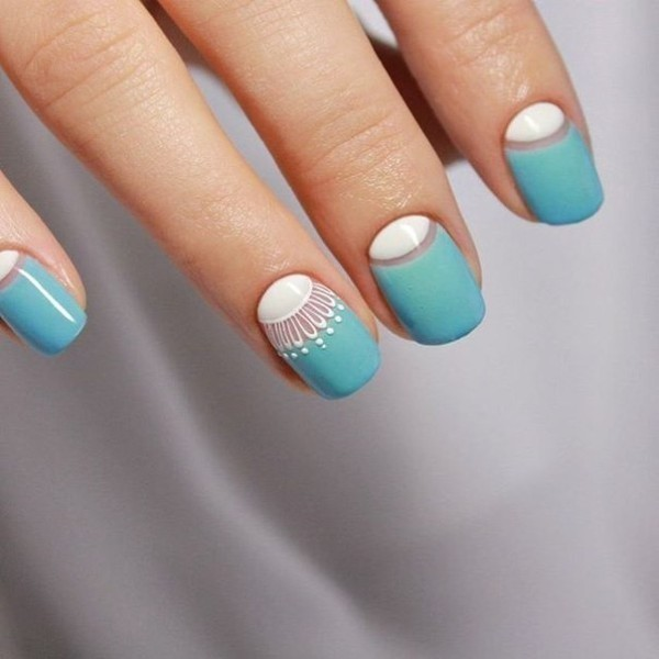 simple-nails-7 28 Dazzling Nail Polish Trends You Must Try in 2017