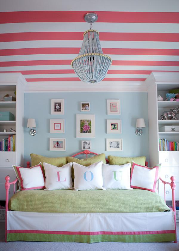 striped-ceiling-l-8692e2da3ef48c8e +25 Marvelous Kids' Rooms Ceiling Designs Ideas