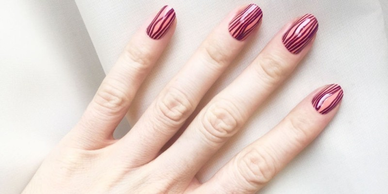 striped-nails-14 28+ Dazzling Nail Polish Trends You Must Try in 2019