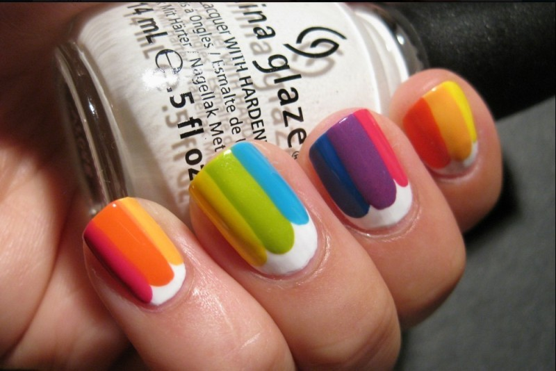 striped-nails-15 28+ Dazzling Nail Polish Trends You Must Try in 2021