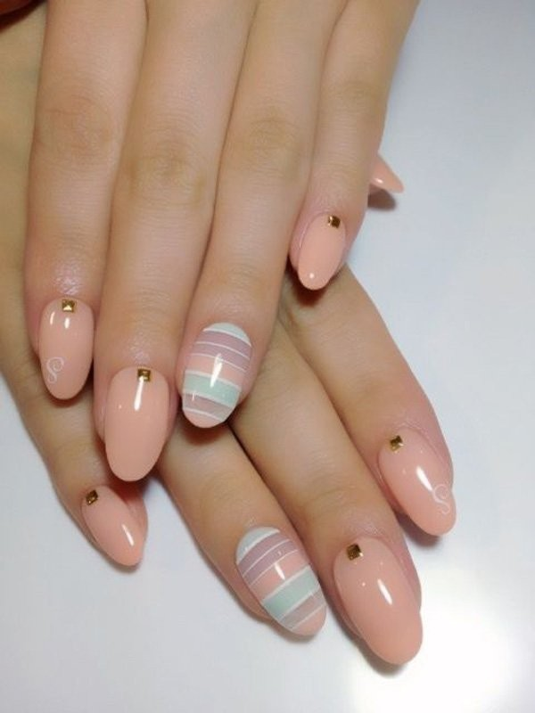 striped-nails-6 28+ Dazzling Nail Polish Trends You Must Try in 2018
