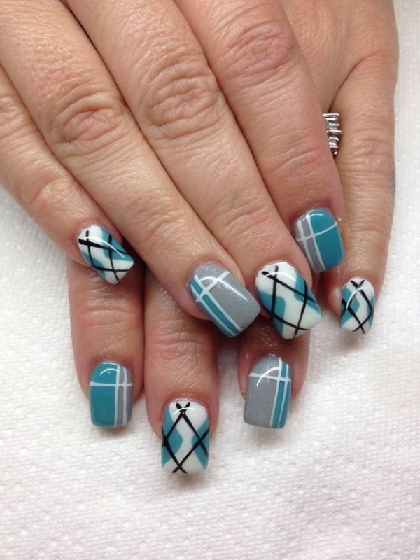 striped-nails-7 28+ Dazzling Nail Polish Trends You Must Try in 2021