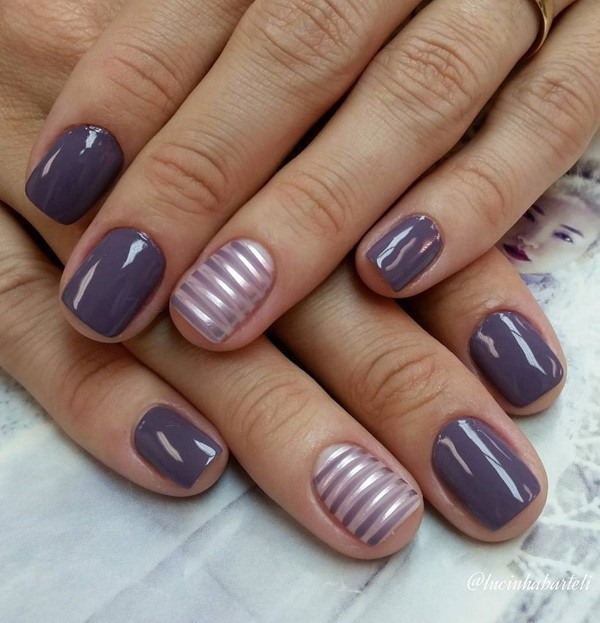 striped-nails-8 28+ Dazzling Nail Polish Trends You Must Try in 2021