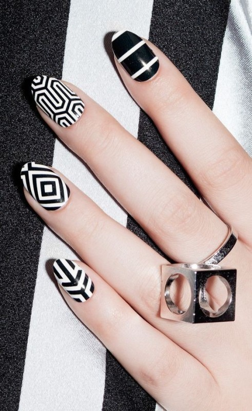 striped-nails 28+ Dazzling Nail Polish Trends You Must Try in 2018