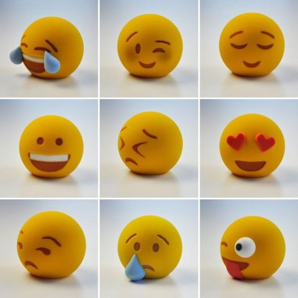 3D-printed-emojis 50 Affordable Gifts for Star Wars & Emoji Lovers