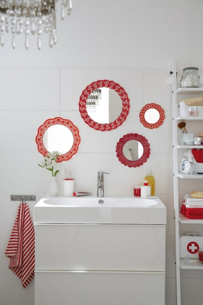 41626-_koronkowe_lustro_lazienkowe-675x1013 Latest Trends: Best 27+ Bathroom Mirror Designs