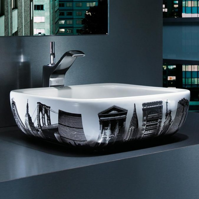 Around-the-world-bathroom-sink-675x675 Top 10 Modern Bathroom Sink Design Ideas in 2017