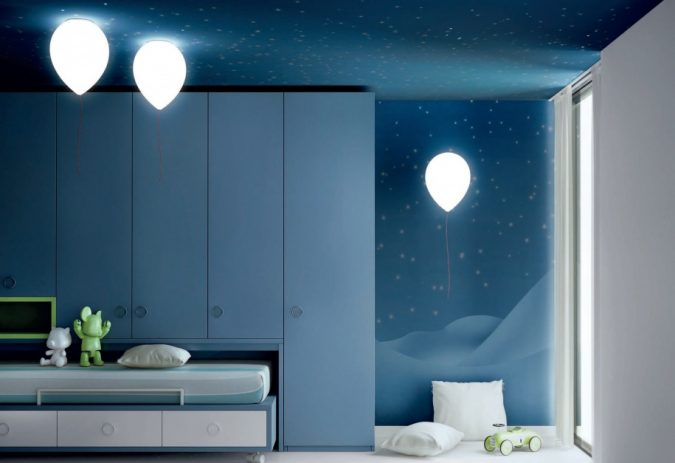 Balloon-lamps6-675x463 20+ Best Ceiling Lamp Ideas for Kids' Rooms in 2022