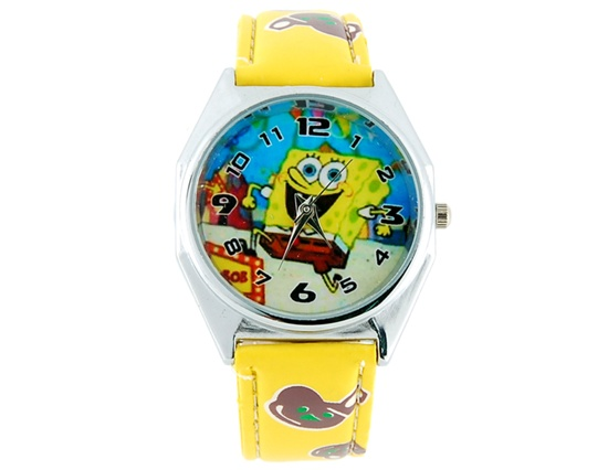 Bigger-Cartoon-Watch-Yellow-M-ID83403 75 Amazing Kids Watches Designs
