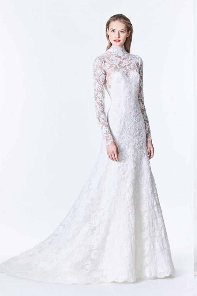 Carolina-Herrera-dress-675x1013 5 Hottest Wedding Dresses Trends in 2021