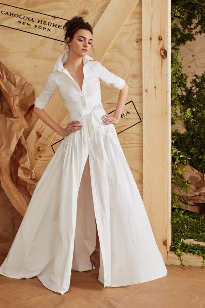 Carolina-Herrera-wedding-dress-2017-675x1013 5 Hottest Wedding Dresses Trends in 2021