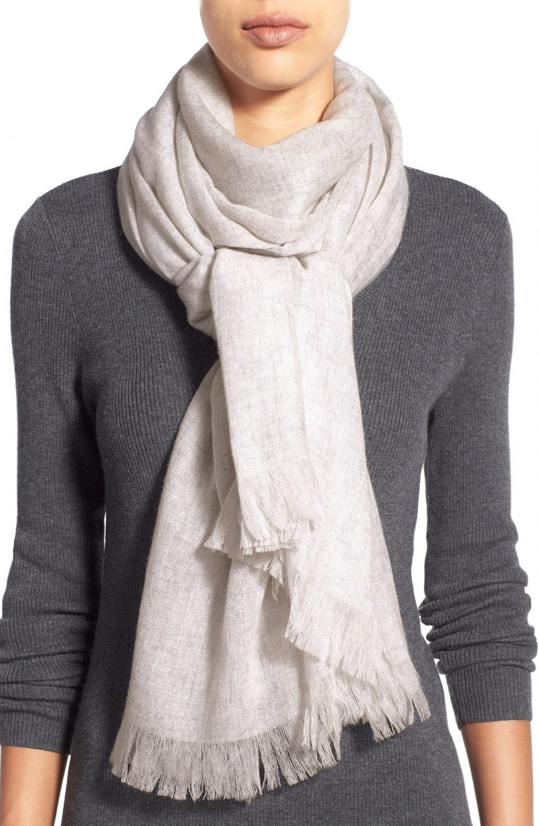Cashmere-Scarf5 22+ Elegant Scarf Trend Forecast for Winter & Fall 2020