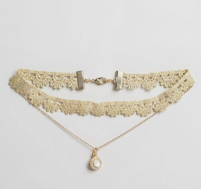 Chokers-1-675x636 6 Main Necklace Trends For Summer 2018