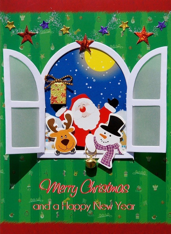 Christmas-greeting-cards-2017-8 75+ Most Fascinating Christmas Greeting Cards