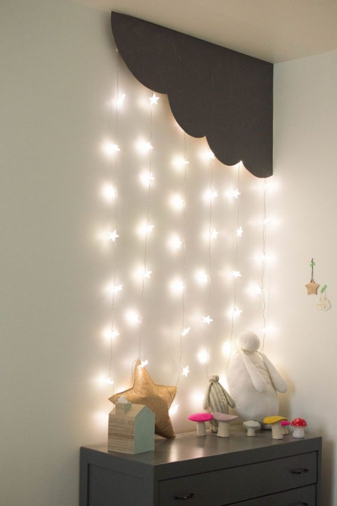 Cornered-cloud-and-stars-lighting4-675x1014 20+ Best Ceiling Lamp Ideas for Kids' Rooms in 2018