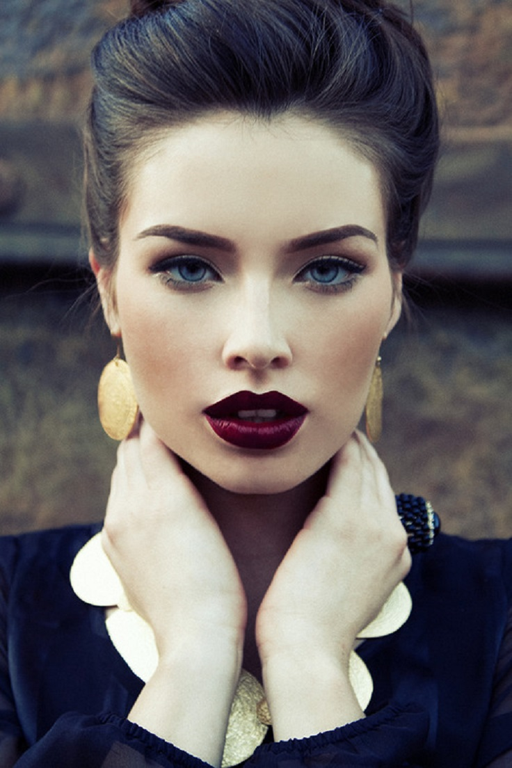 DARK-LIPSTICK4 10 Most Beauty Trends That Men Hate