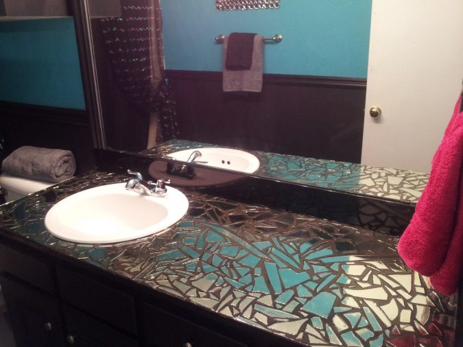 DIY-broken-mirror0-675x506 Latest Trends: Best 27+ Bathroom Mirror Designs