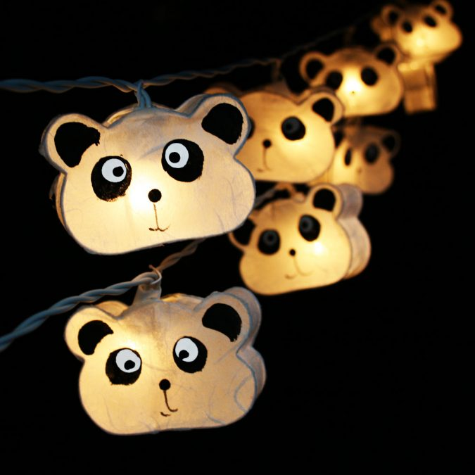 DIY-lighting-inside-handmade-cute-bears-675x675 20+ Ceiling Lamp Ideas for Kids' Rooms in 2017