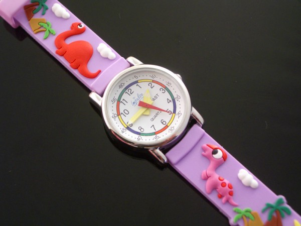 DinosaurPink3 75 Amazing Kids Watches Designs