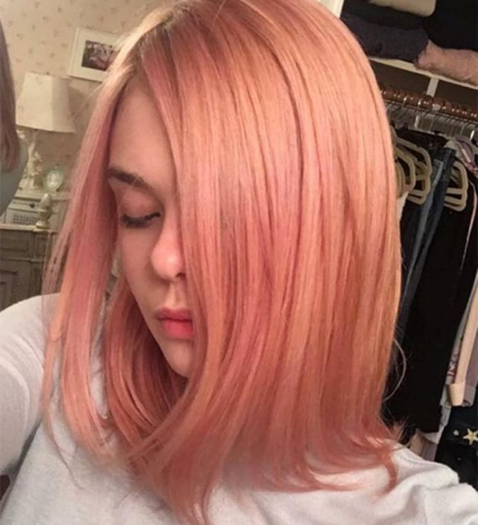Elle-Fanning2-675x741 15+ Fashionable Tremendous Celebrities' Hairstyles
