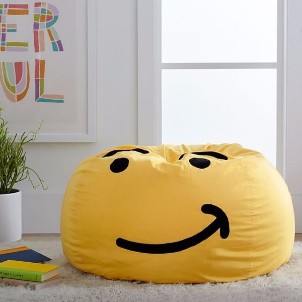 Emoji-Bean-Bag-chair-1 50 Affordable Gifts for Star Wars & Emoji Lovers