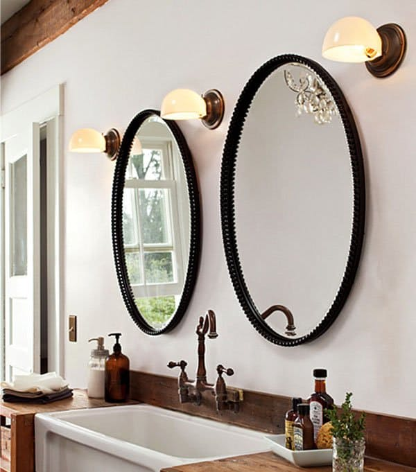 His-and-hers-mirrors8 Latest Trends: Best 27+ Bathroom Mirror Designs