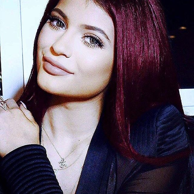 Kylie-Jenner4 15+ Fashionable Tremendous Celebrities' Hairstyles