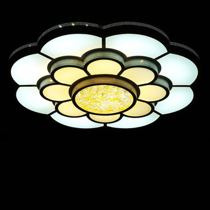 LED-shaped-light3-675x675 20+ Ceiling Lamp Ideas for Kids' Rooms in 2017