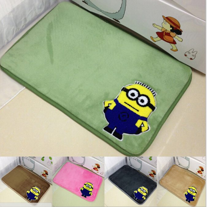 Minions-bathroom-rug-675x675 25+ Cutest Kids Bathroom Rugs for 2018