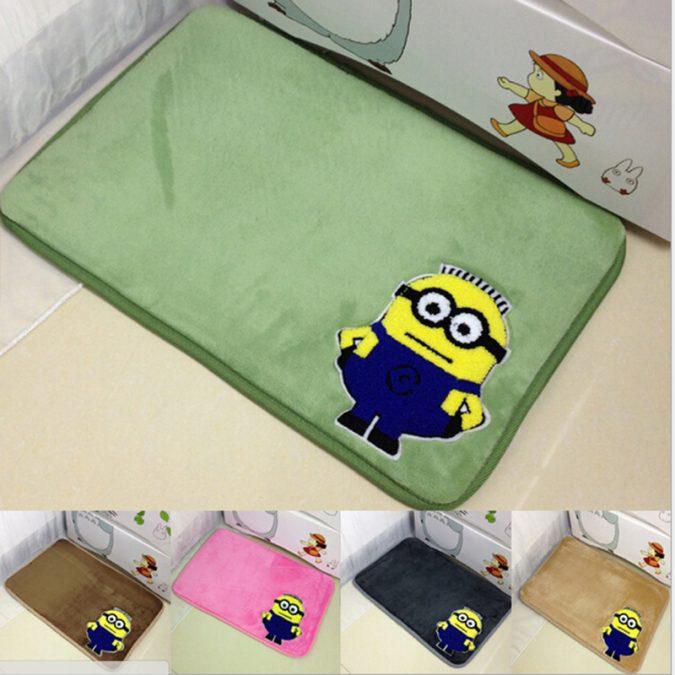 Minions-bathroom-rug-675x675 25+ Cutest Kids Bathroom Rugs for 2021