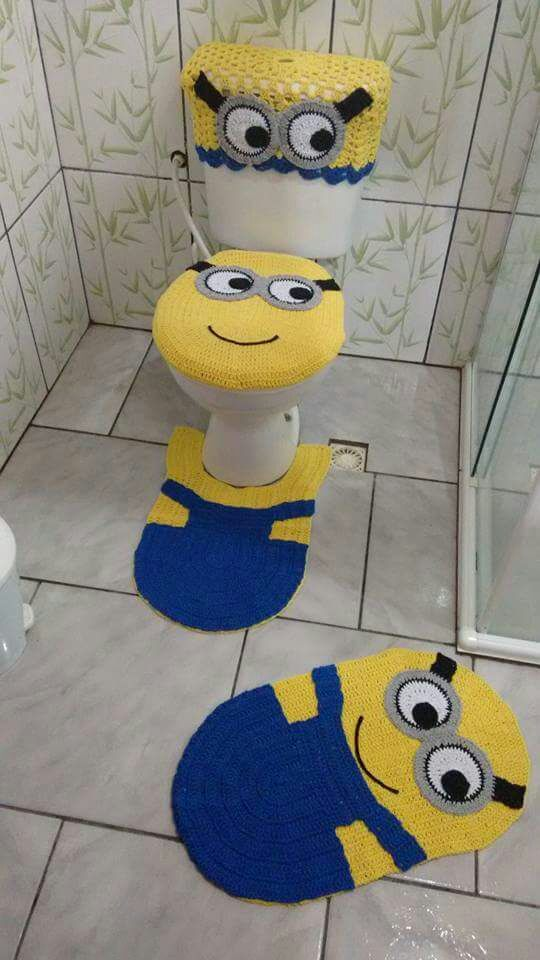 Minions-bathroom-rug2 25+ Cutest Kids Bathroom Rugs for 2020